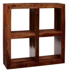 Cube Indian Wood 4 Hole Cube