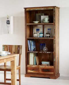 Reclaimed Boat Large Bookcase