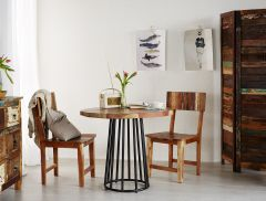 Reclaimed Boat Round Dining Table