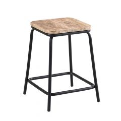 Metropolis Short Bar Stool