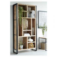 Upcycled Industrial Mintis Multishelf Bookcase