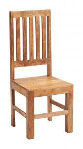 Dakota Light Mango Slat Back Dining Chair ( A Pair )