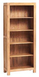 Dakota Light Mango Large Open Bookcase