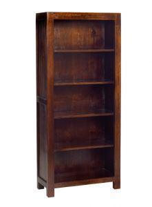 Dakota Mango Large Open Bookcase
