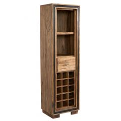 Indus Sheesham Wine Bookcase