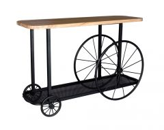 Wheel Craft Console Table